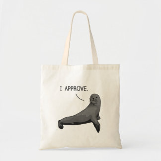 Seal of Approval Budget Tote Bag