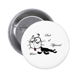 Seal of Approval Pinback Buttons