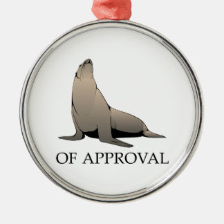 Seal Of Approval Christmas Ornament