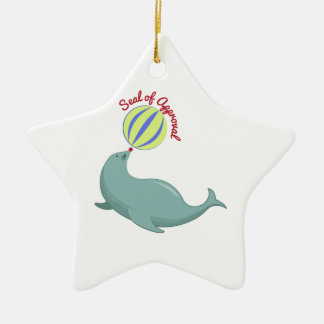 Seal of Approval Christmas Tree Ornaments