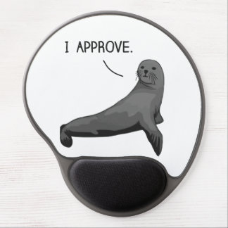 Seal of Approval Gel Mouse Mats