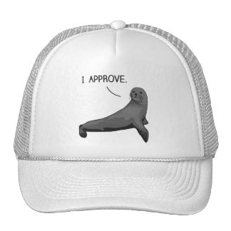 Seal of Approval Hats