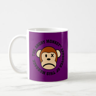 Seal of Approval: Message endorsed by Angry Monkey Coffee Mug