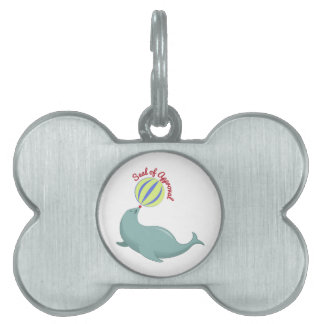 Seal of Approval Pet Tags