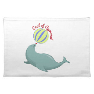 Seal of Approval Place Mat