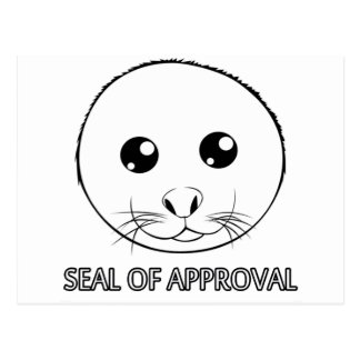 Seal of Approval Post Cards