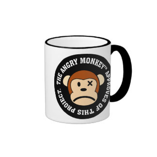 Seal of Approval Project endorsed by Angry Monkey Mugs