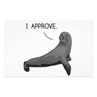Seal of Approval Stationery Paper