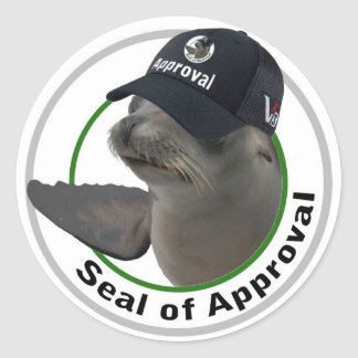 Seal of approval sticker