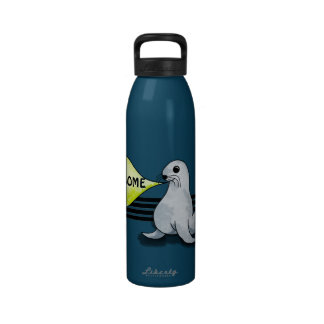 Seal of Approval Reusable Water Bottle