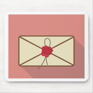 Sealed Envelope Vector Mouse Pad