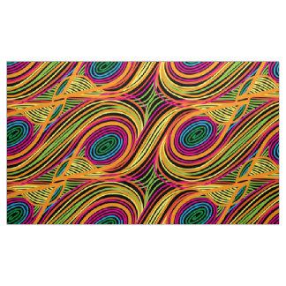 Seamless pattern beautiful decorative curls fabric
