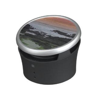 Seascape at sunset bluetooth speaker