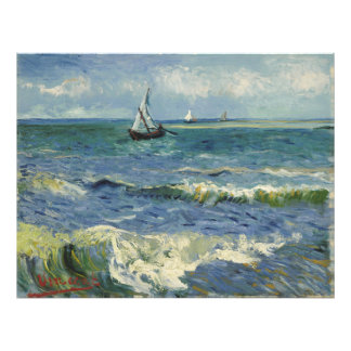 Seascape Les Saintes-Maries-de-la-Mer by Van Gogh Photo Print