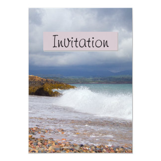 Seascape Party Announcement Invitation