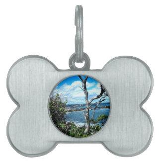 Seascape Pet ID Tag