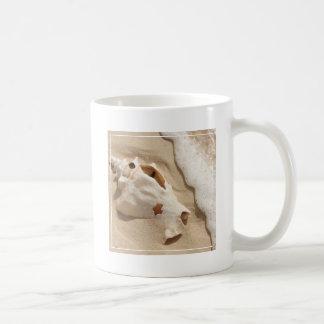Seashell On Beach | Grand Turk Caribbean Island Coffee Mug