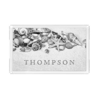Seashells Custom Serving Tray