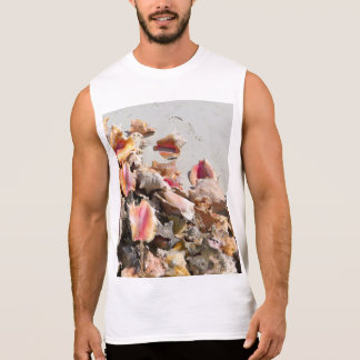 Seashells on the Beach   Turks and Caicos Photo Sleeveless Shirt