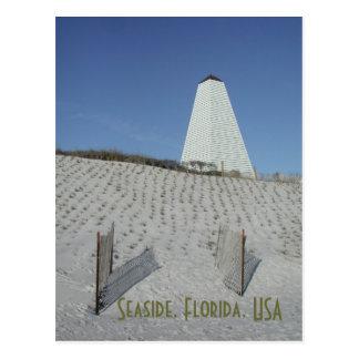 Seaside sea oats postcard