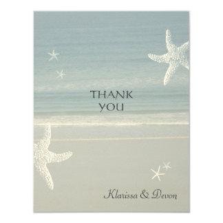 Seaside Thank You Card