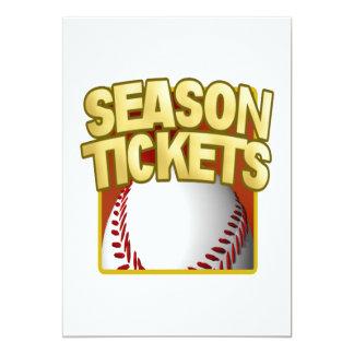 Season Tickets Card