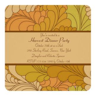 Seasonal Colors Invitation