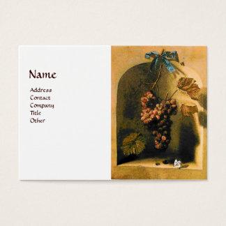 SEASON'S FRUITS -PROSPERITY yellow brown white Business Card