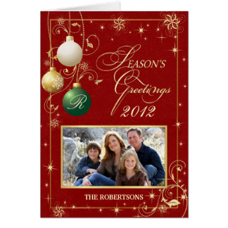 Seasons Greeting Cards - Holiday Photo Template