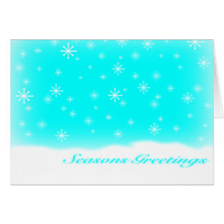 SEASONS GREETINGS BABYBLUE CARD