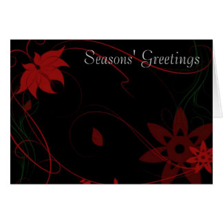 Seasons' Greetings Note Card