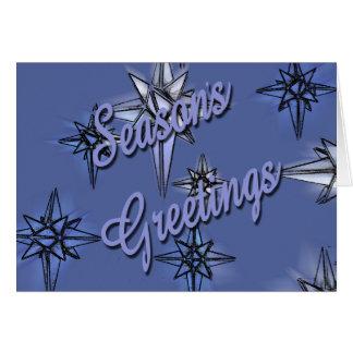 Season's Greetings Greeting Card