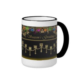 Seasons Greetings Christmas Lights Holiday Mug