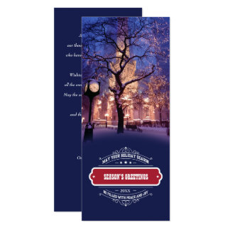 Season's Greetings Corporate Photo Template Cards