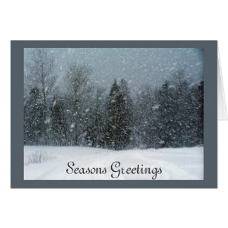 Seasons Greetings custom greeting card
