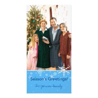 Season's Greetings! Customised Photo Card
