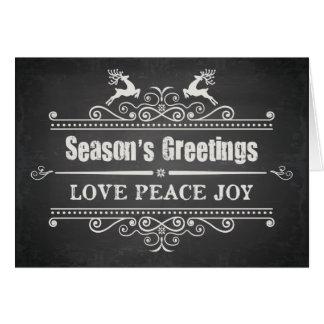 Seasons Greetings Holiday Card