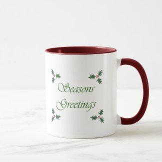 Seasons Greetings Holiday Mug