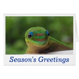Season's Greetings Holiday Wildlife Cards