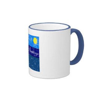 Season's Greetings Ringer Mug