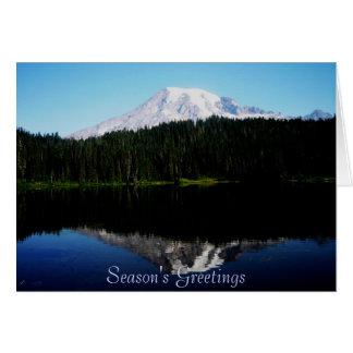 Season's Greetings Reflections Card