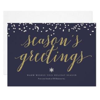 Season's Greetings Script Card