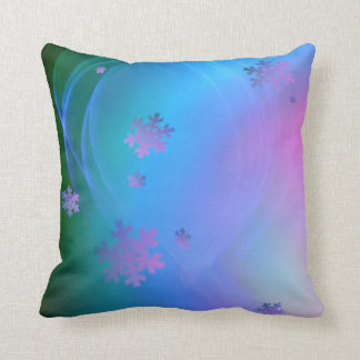 Season's Greetings Snowflake and Holiday Swirl Cushions