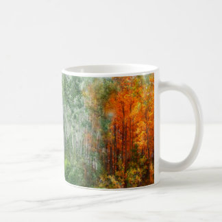 Seasons Of The Aspen Art Mug