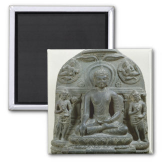 Seated Buddha in meditation Fridge Magnet