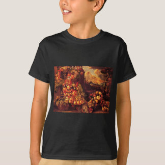 Seated Figure of Summer by Giuseppe Arcimboldo T-Shirt