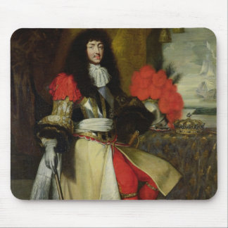 Seated Portrait of Louis XIV  after 1670 Mouse Pad