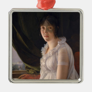 Seated Portrait of Marie-Philippe-Claude Christmas Ornament