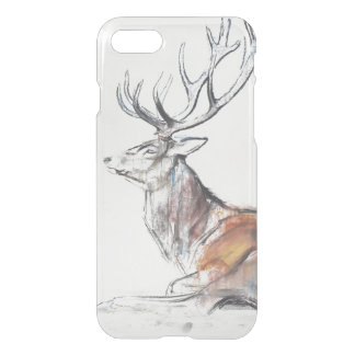 Seated Stag 2006 iPhone 8/7 Case