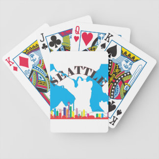 Seattle Bicycle Playing Cards